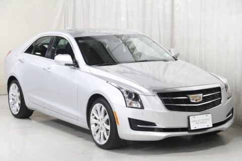 Certified Pre-Owned 2017 Cadillac ATS 2.0L Turbo Luxury